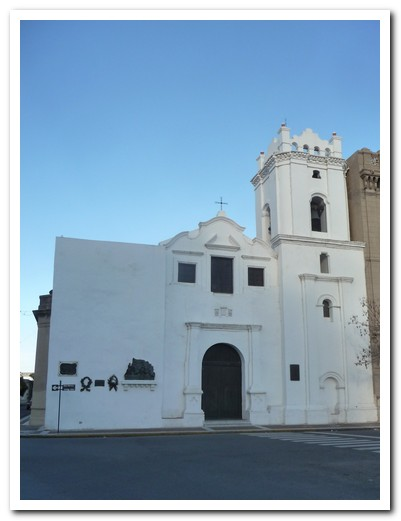 Jesuit Church at Santa Fe from 1640