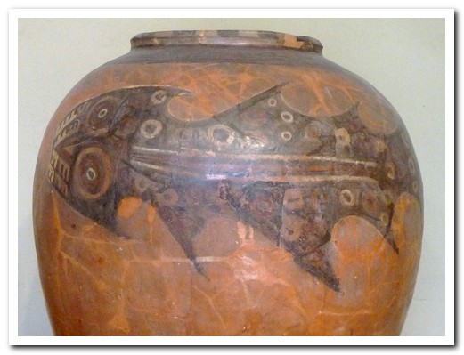 The shark was important to the pre Inca Lima people